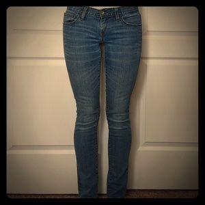 Levi's 521 Ultra Low Skinny Jeans, size 2